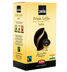 Java Capsules India, Fairtrade, 16 stuks